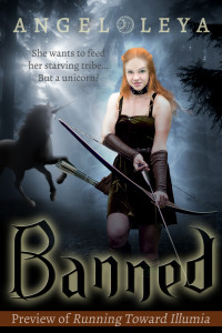 Banned, a free preview of Running Toward Illumia by Angel Leya | www.angeleya.com