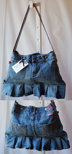 DIY Purses Made From Jeans — Children's Jeans!