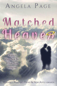 Matched in Heaven by Angela Page | Cover design by Angel Leya | www.angeleya.com