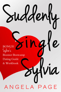 Suddenly Single Sylvia by Angela Page | Cover design by Angel Leya | www.angeleya.com