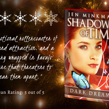 Book Review: Shadow of Time by @JenMinkman