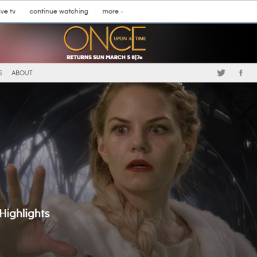Once Upon a Time: The TV Show I Love