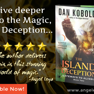 Book Review: The Island Deception by @DanKoboldt