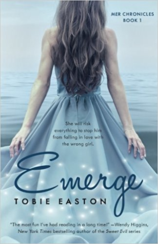 Book Review: Emerge by @TobieEaston #mermaid
