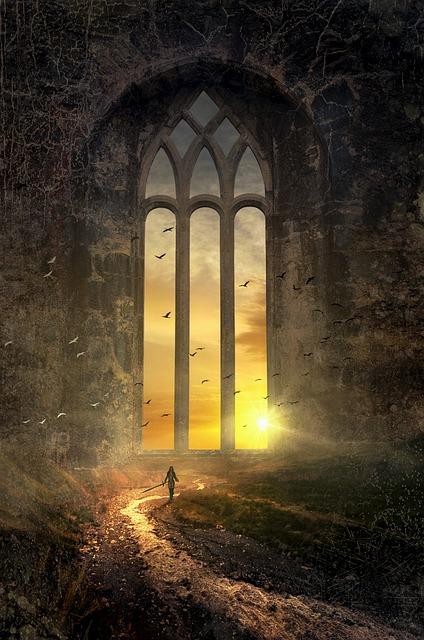Fantasy landscape by Stefan Keller via https://pixabay.com/en/users/kellepics-4893063/ | www.AngeLeya.com