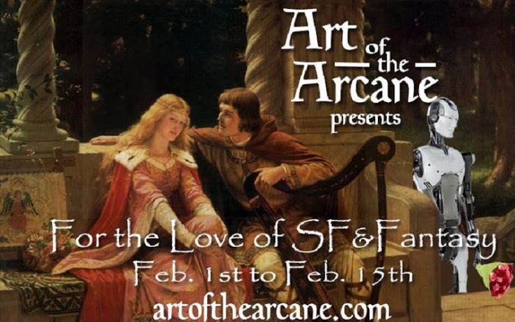 For the Love of SF & Fantasy by the Art of the Arcane | https://artofthearcane.com/februrary-sff-giveaway/ | www.AngeLeya.com #freeebooks #scifi #fantasy #Valentines #amreading