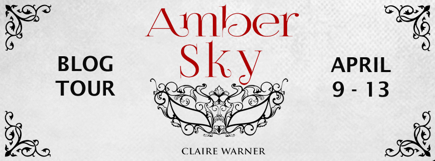 Blog Tour: Amber Sky by Claire Warner | Tour organized by YA Bound | www.angeleya.com