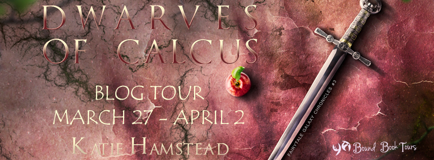 Blog Tour: Dwarves of Calcus by Katie Hamstead | Tour organized by YA Bound | www.angeleya.com