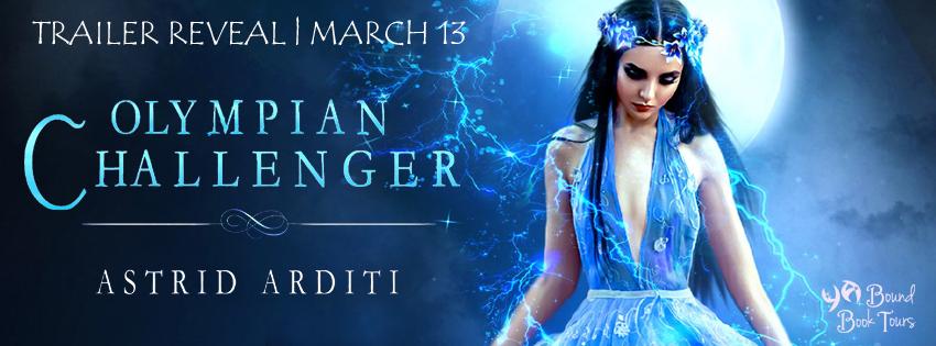 Trailer Reveal: Olympian Challenger by Astrid Arditi | Tour organized by YA Bound | www.angeleya.com