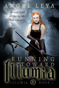Running Toward Illumia, Illumia Book 1 by Angel Leya | books2read.com/Illumia1