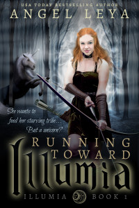 Running Toward Illumia by Angel Leya | https://books2read.com/illumia1/