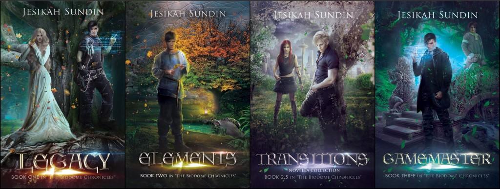 The Biodome Chronicles by Jesikah Sundin | www.angeleya.com #amreadingfantasy #ecopunk