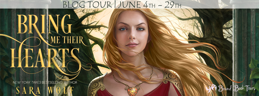 Blog Tour: Bring Me Their Hearts by Sara Wolf | www.angeleya.com