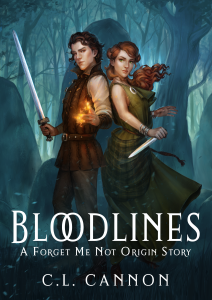 Cover Reveal: Bloodlines by C.L. Cannon | www.angeleya.com