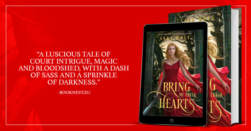 Bring Me Their Hearts by Sara Wolf | www.angeleya.com