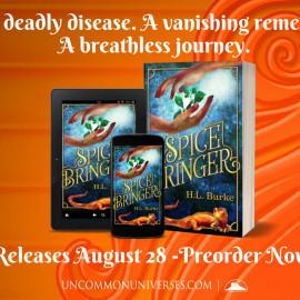 Cover Reveal: Spicebringer by @hlburkewriter