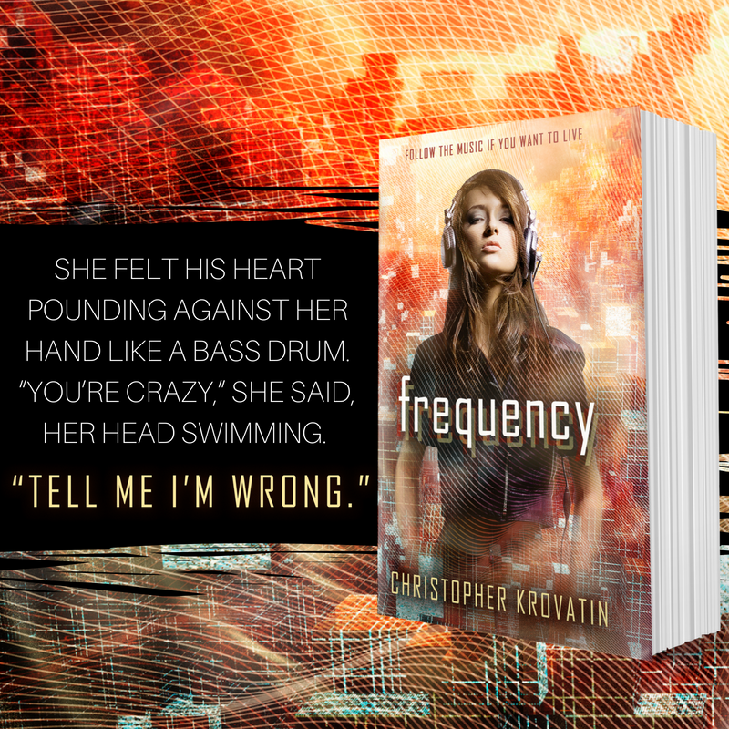 Teaser 3: Frequency by Christopher Krovatin | Tour organized by YA Bound | www.angeleya.com
