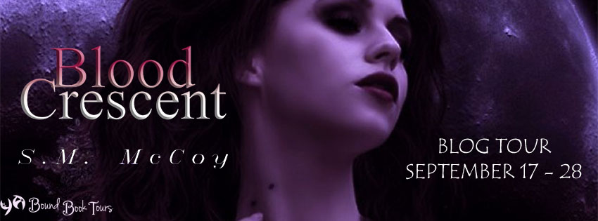 Blog Tour: Blood Crescent by Stevie McCoy | Tour organized by YA Bound | www.angeleya.com