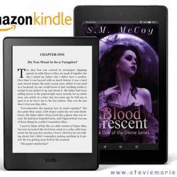 Blog Tour: Blood Crescent by @authormarie, #giveaway