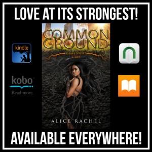 Common Ground by Alice Rachel | Tour organized by YA Bound | www.angeleya.com