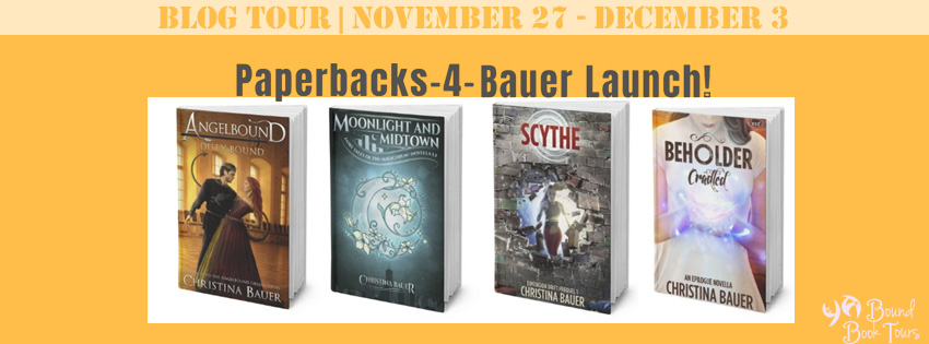 Blog Tour: Fall 4 Paperbacks by Christina Bauer | Tour organized by YA Bound | www.angeleya.com