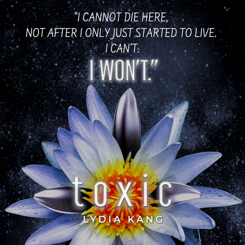 Quote 1: Toxic by Lydia Kang, Entangled Teen | Tour organized by YA Bound | www.angeleya.com