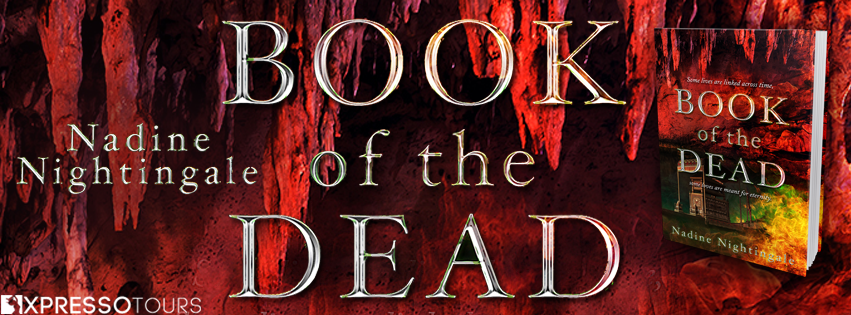 Cover Reveal: Book of the Dead by Nadine Nightingale | Tour organized by XPresso Book Tours | www.angeleya.com
