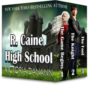 R. Caine High School by Victoria Danann | Tour organized by YA Bound | www.angeleya.com