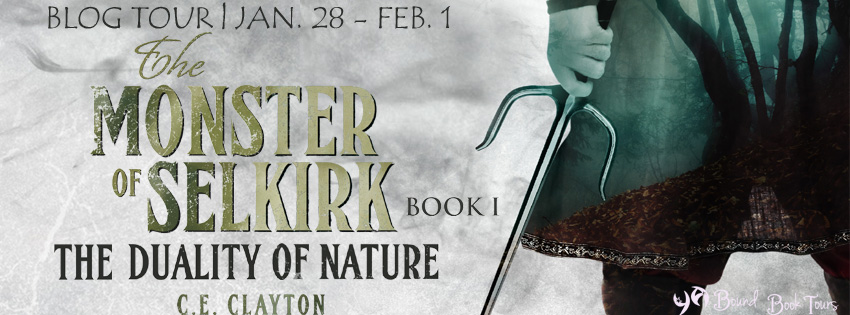 Blog Tour: The Duality of Nature by C.E. Clayton | Tour organized by YA Bound | www.angeleya.com