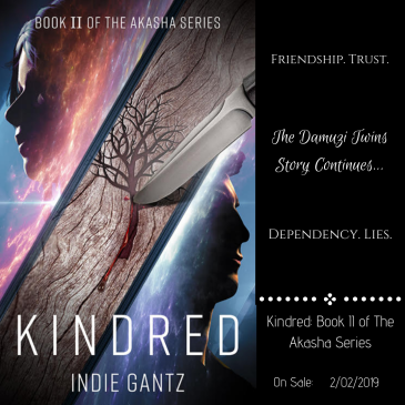 Blog Tour: Kindred by @ThisisIndieG