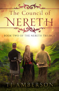 The Council of Nereth by T.J. Amberson | Tour organized by XPresso Blog Tours | www.angeleya.com