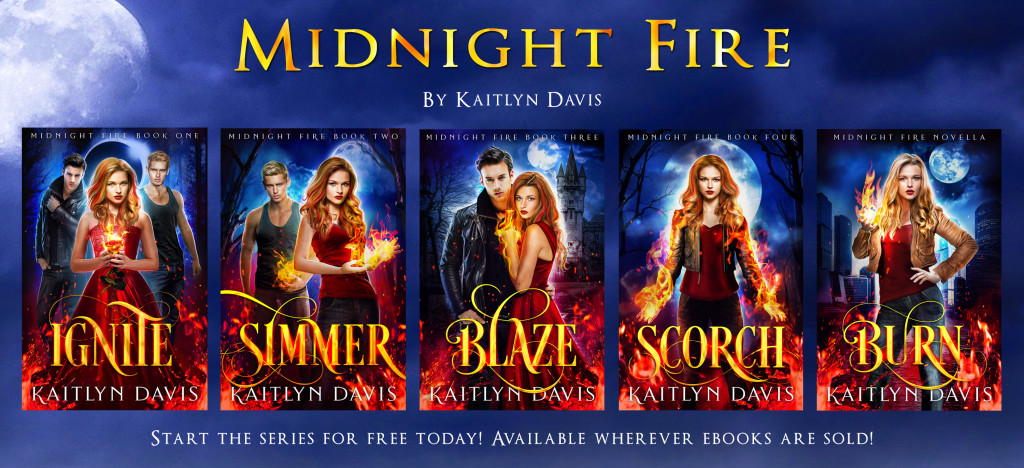 Midnight Fire series by Kaitlyn Davis | Tour organized by YA Bound | www.angeleya.com