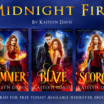 Cover Repackage Blitz: Midnight Fire Series by @DavisKaitlyn
