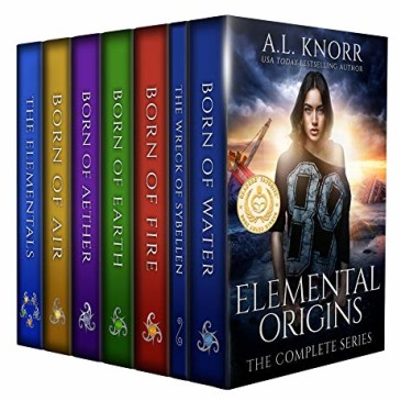 Book Review: Elemental Origins by @ALKnorrBooks