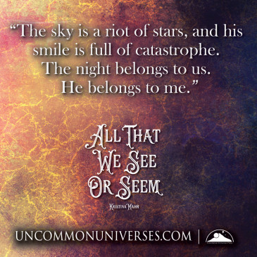 Blog Tour: @kristina_mahr's All That We See or Seem & A Dream Within a Dream