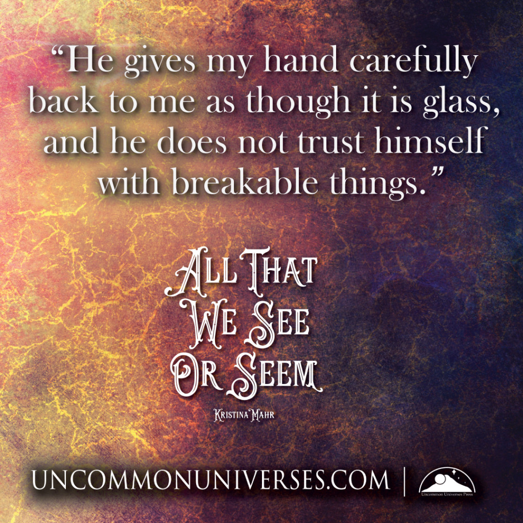 Quote 1: All That We See or Seem by Kristina Mahr | Tour organized by YA Bound | www.angeleya.com