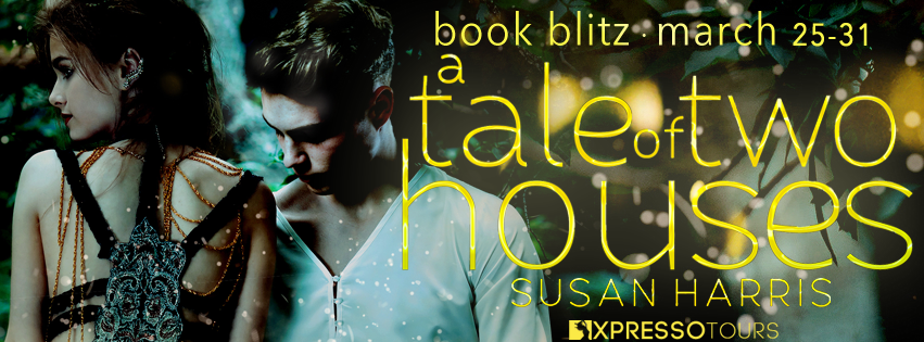 Blitz: A Tale of Two Houses by Susan Harris | Tour organized by XPresso Book Tours | www.angeleya.com