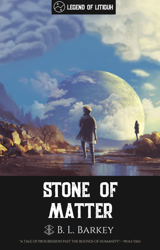 Stone of Matter by B.L. Barkey, author | Tour organized by XPresso Book Tours | www.angeleya.com