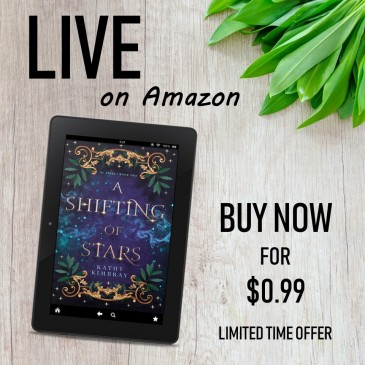 Book Blitz: A Shifting of Stars by @KathyKimbray