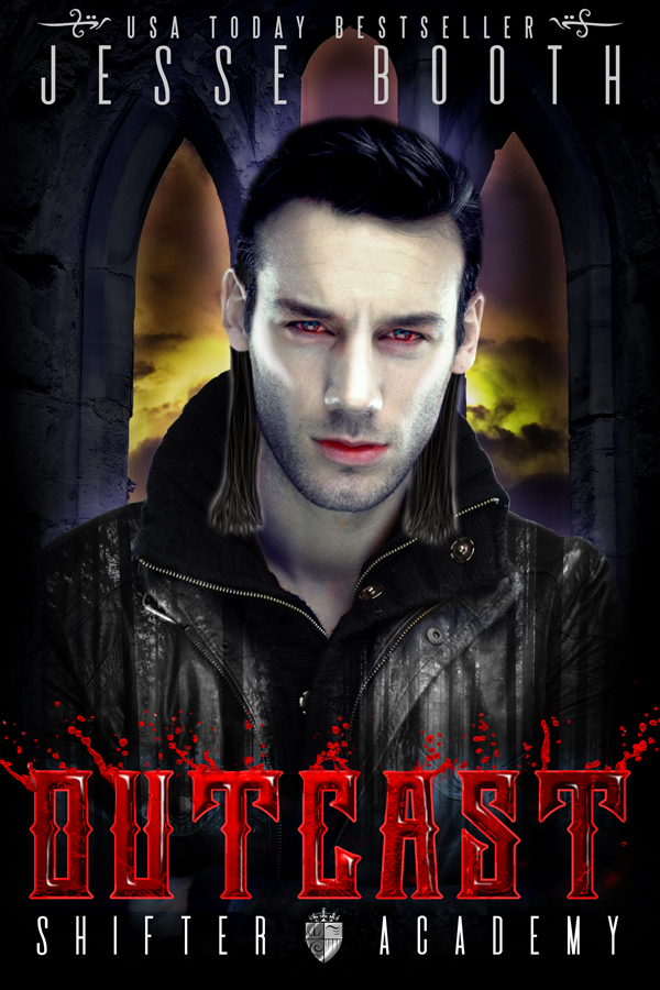 Outcast (Shifter Academy) by Jesse Booth | www.angeleya.com