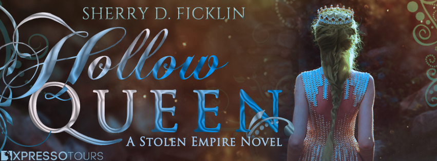 Cover Reveal: The Hollow Queen by Sherry D. Ficklin | Tour organized by XPresso Book Tours | www.angeleya.com