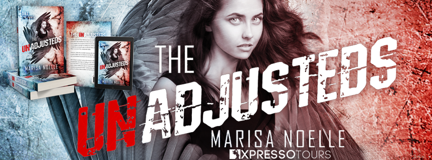 Cover Reveal: The Unadjusteds by Marisa Noelle | Tour organized by XPresso Book Tours | www.angeleya.com