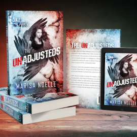 Cover Reveal: The Unadjusteds by @marisanoelle77