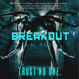 Teaser 2: Breakout by A.M. Rose | Tour organized by YA Bound | www.angeleya.com