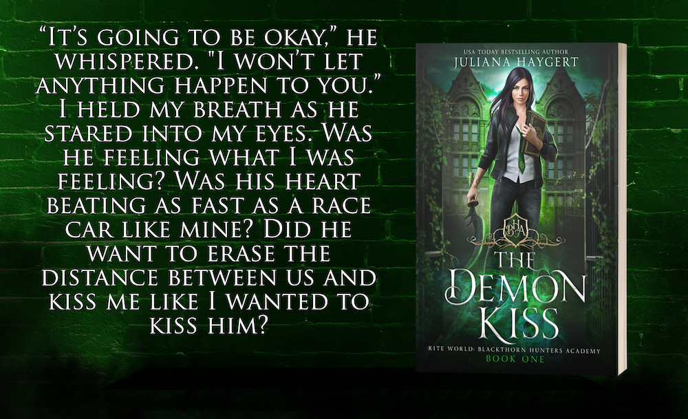 Teaser 3: The Demon Kiss by Juliana Haygert | Tour organized by Xpresso Book Tours | www.angeleya.com