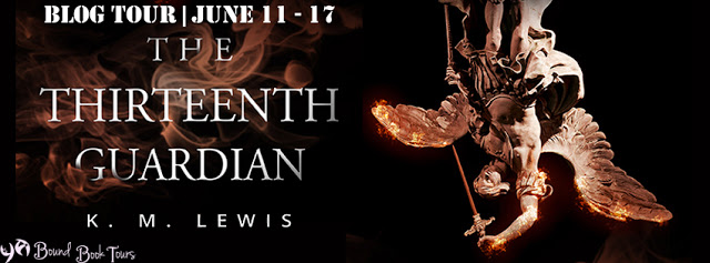 Book Tour: The Thirteenth Guardian by K.M. Lewis | Tour organized by YA Bound | www.angeleya.com