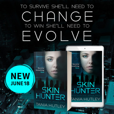 Book Blitz: Skin Hunter by Tania Hutley
