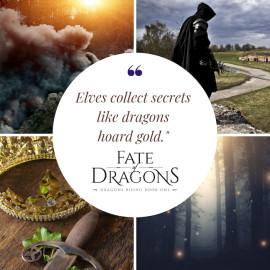 Book Blitz: Fate of Dragons by Alisha Klapheke