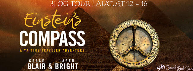 Book Tour: Einstein's Compass by Grace Blair | Tour organized by YA Bound | www.angeleya.com