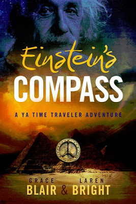 Blog Tour: Einstein's Compass by Grace Blair & Laren Bright @gracethemystic